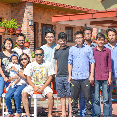View9 Team relaxes at Khushi khusi resort